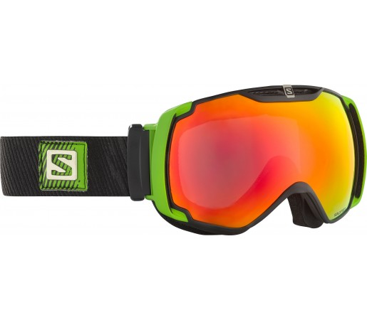 Ochelari Ski si Snowboard Salomon X-Tend Black/Green/Orange