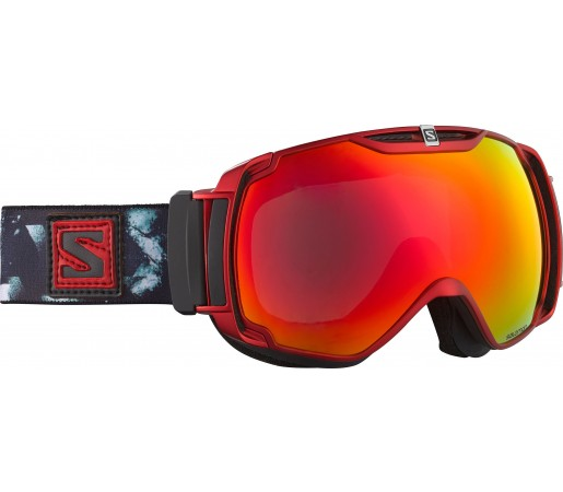 Ochelari Ski si Snowboard Salomon X-Tend Black/Red/Orange