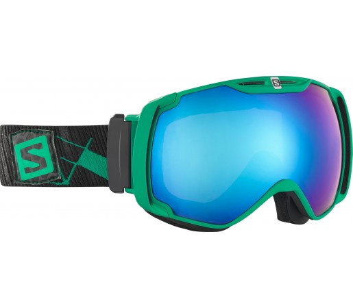 Ochelari Ski si Snowboard Salomon X-Tend Green/Black