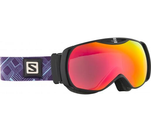 Ochelari Ski si Snowboard Salomon X-Tend Black/Orange/Purple