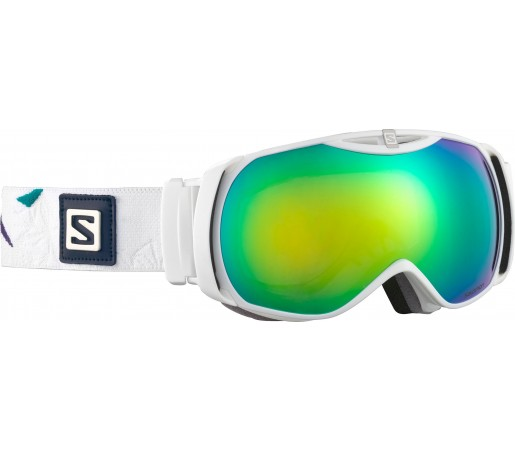 Ochelari Ski si Snowboard Salomon X-Tend White/Green