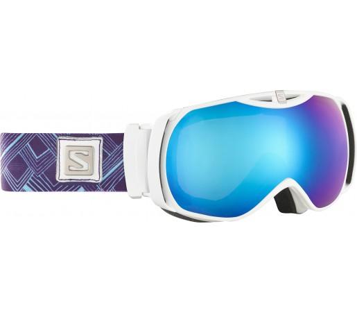 Ochelari Ski si Snowboard Salomon X-Tend White/Blue
