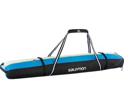 Husa Skiuri Salomon Extend 2 Pairs Ski Bag Blue/White