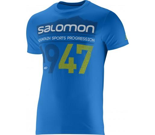 Tricou Salomon 1947 Logo SS M Blue
