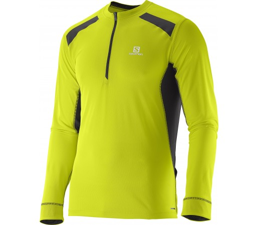Bluza tehnica Salomon Fast Wing LS M Verde
