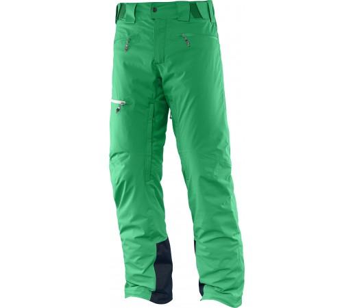 Pantaloni de Ski si Snowboard Salomon Whitecliff GTX M Verzi