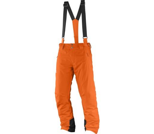 Pantaloni de Ski si Snowboard Salomon Iceglory M Portocalii