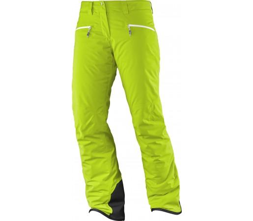Pantaloni de Ski si Snowboard Salomon Whitecliff GTX W Verzi