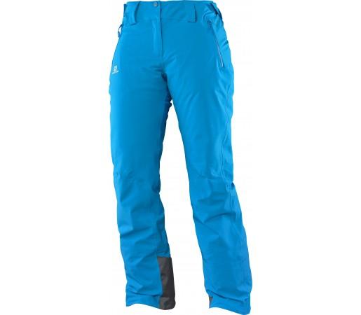 Pantaloni de Ski si Snowboard Salomon Iceglory W Albastri