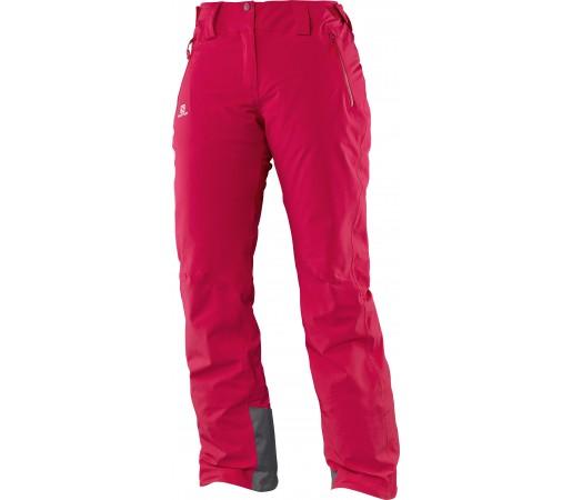 Pantaloni de Ski si Snowboard Salomon Iceglory W Roz