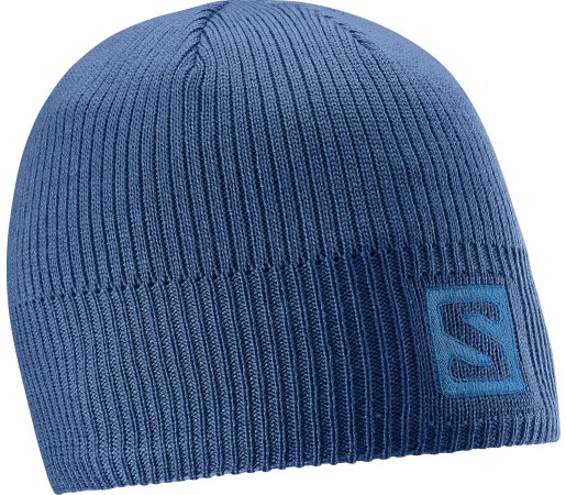 Caciula Salomon Logo Beanie Albastra