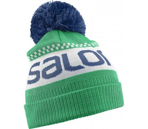 Caciula Salomon Junior Logo Beanie Verde