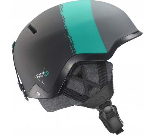 Casca schi si snowboard Salomon Hacker Custom Air Neagra