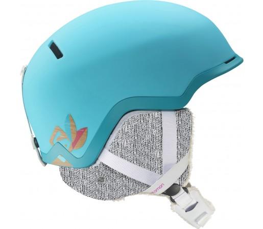 Casca schi si snowboard Salomon Shiva Custom Air Albastra