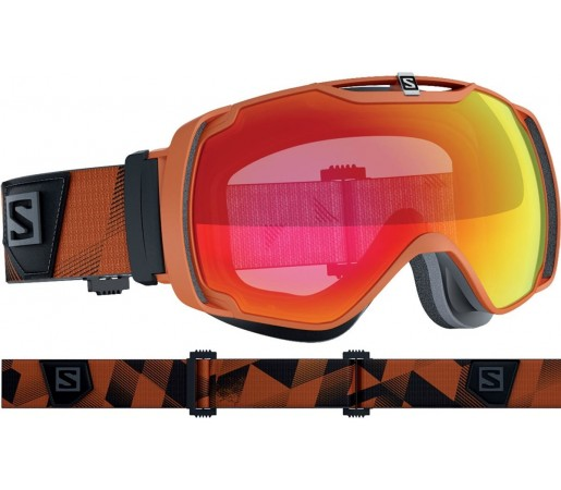 Ochelari de schi si snowboard Salomon X-Tend Orange