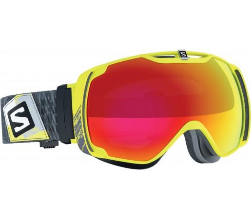 Ochelari de schi si snowboard  Salomon X-Tend Galben-Rosu