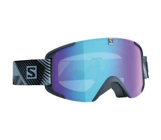 Ochelari schi si snowboard Salomon XView Polo Negri/Albastri