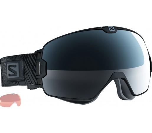 Ochelari Schi si Snowboard Salomon X-Max Black +Xtralens