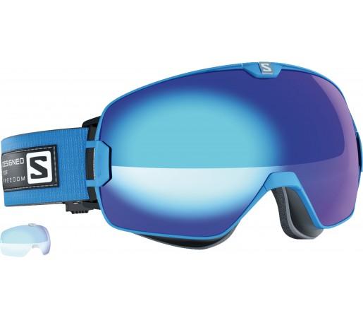Ochelari Schi si Snowboard Salomon X-Max Blue +Xtralens