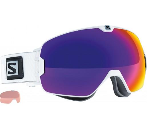Ochelari Schi si Snowboard Salomon X-Max White +Xtralens