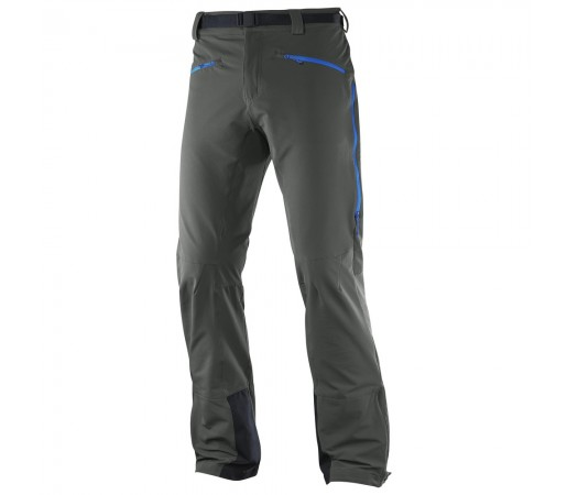 Pantaloni hiking Salomon M Ranger Mountain Gri