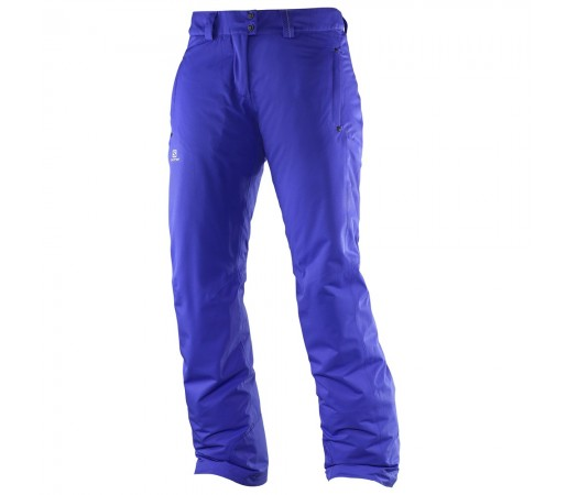 Pantaloni schi si snowboard Salomon W Stormspotter Violet