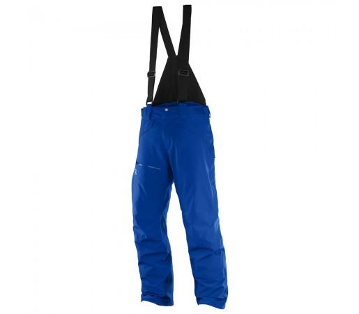 Pantaloni schi si snowboard Salomon M Chill Out Bib Albastri