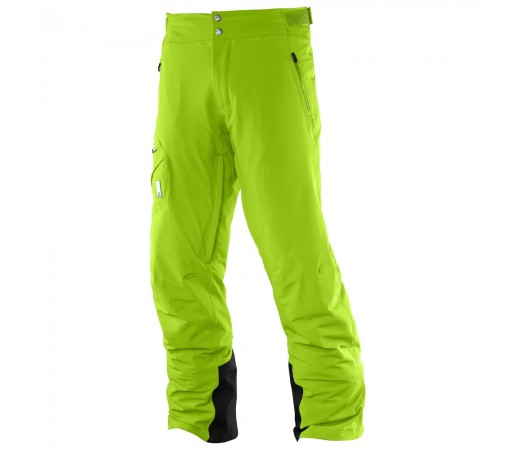 Pantaloni schi si snowboard Salomon M Whitelight Verzi