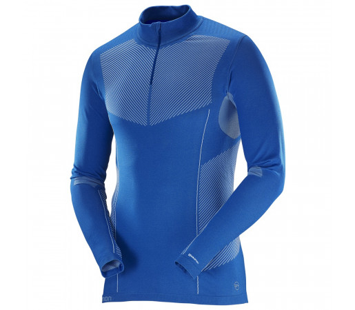 Bluza first layer Salomon Primo Warm Hz M Albastra