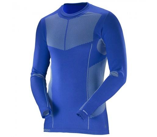 Bluza Salomon M Primo Ls Albastra