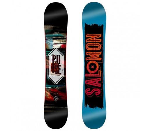Placa Snowboard Salomon M Pulse Albastra