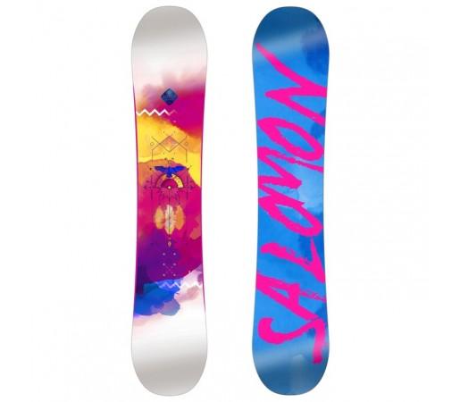 Placa Snowboard Salomon W Lotus Albastra