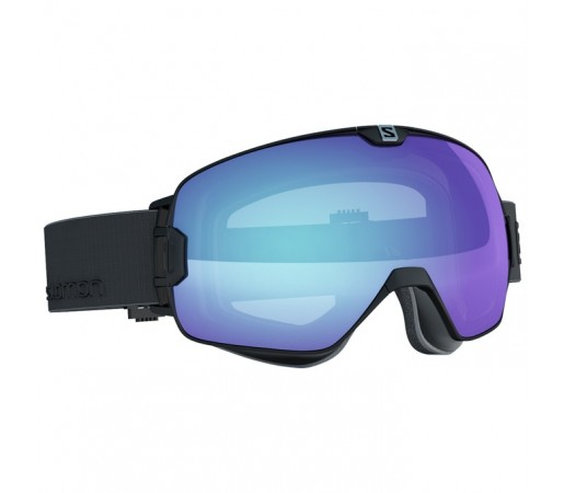 Ochelari schi si snowboard Salomon M X-Max Photo Negri/Albastri
