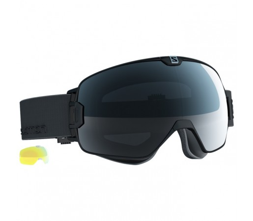 Ochelari schi si snowboard Salomon X-Max Negri