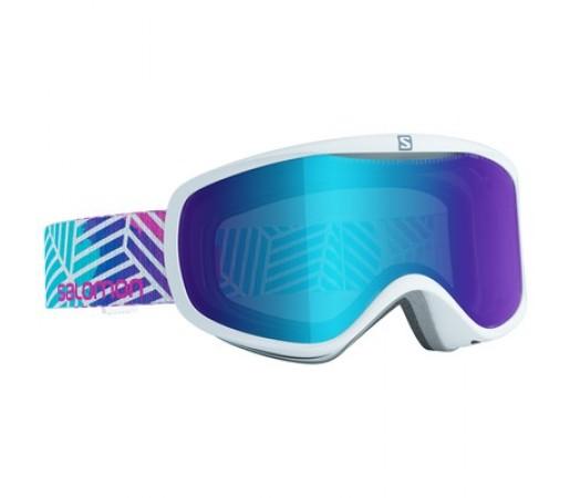 Ochelari schi si snowboard Salomon W Sense Lotus Albi