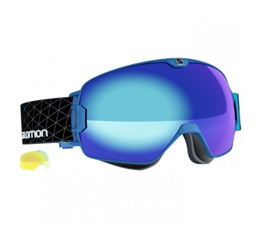 Ochelari schi si snowboard Salomon X-Max Albastri