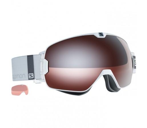 Ochelari schi si snowboard Salomon X-Max Access + Tonic Orange Albi