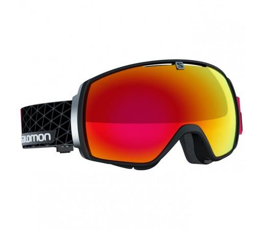 Ochelari schi si snowboard Salomon XT One Negri/Rosii