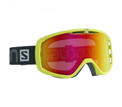 Ochelari schi si snowboard Salomon Aksium Negri/Galbeni