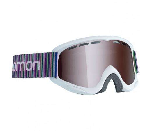 Ochelari schi si snowboard Salomon Jr. Juke Albi