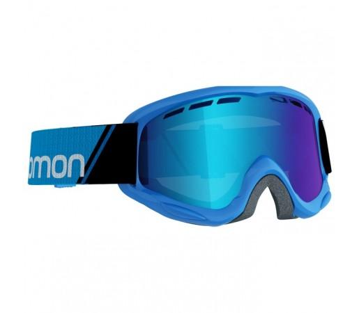 Ochelari schi si snowboard Salomon Jr. Juke Albastri