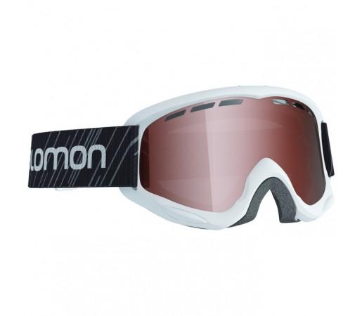 Ochelari schi si snowboard Salomon Jr. Juke Acces Albi