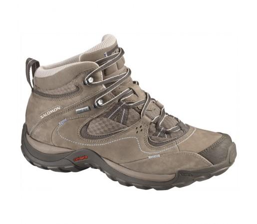 Incaltaminte Hiking Salomon W Elios Mid Gore-Tex 3 Maro