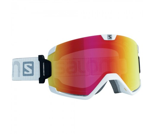 Ochelari schi si snowboard Salomon Cosmic Albi