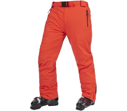 Pantaloni schi si snowboard Trespass Alden Tangerine M Rosii