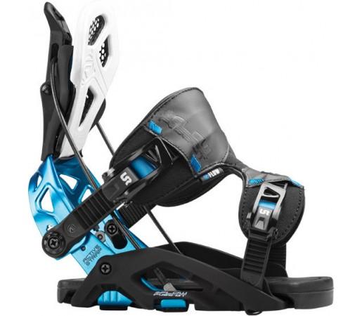 Legaturi Snowboard Flow Nx2 Hybrid Albastre
