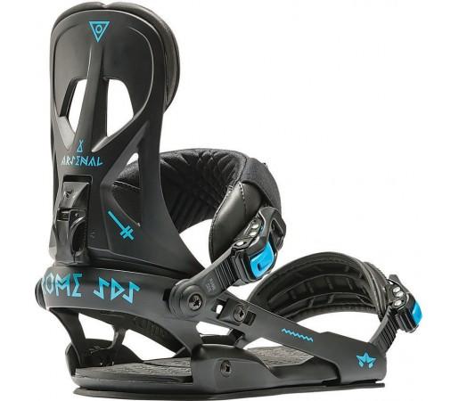 Legaturi Snowboard Rome Arsenal Black