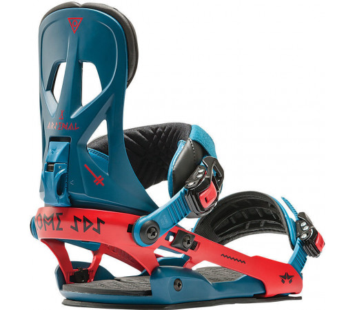 Legaturi Snowboard Rome Arsenal Blue- Red