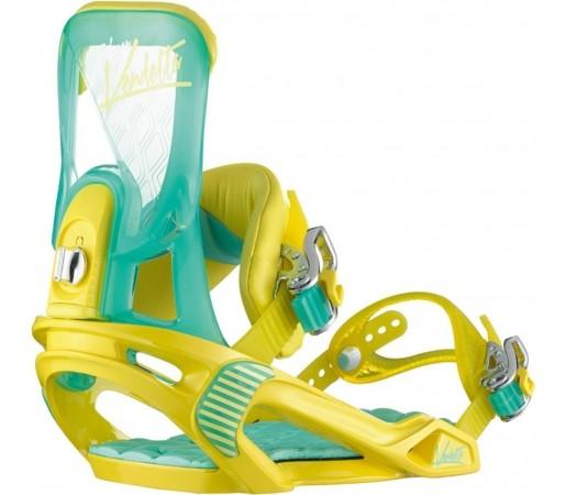 Legaturi Snowboard Salomon Vendetta Green- Yellow