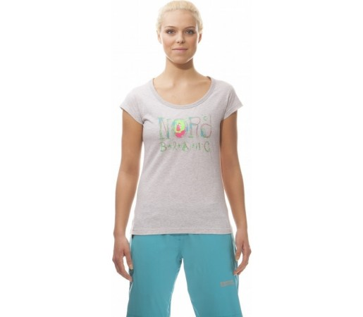 Tricou Nordblanc Heaven Ladie's Light Cotton Gri